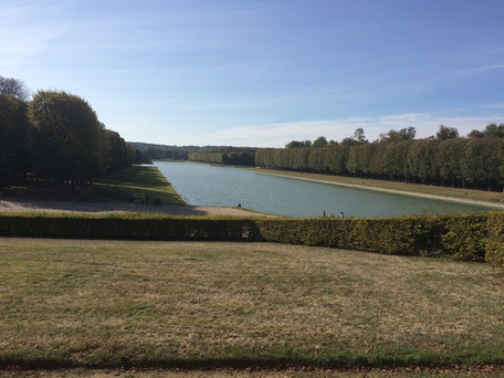 Le Grand Canal de Versailles, vu depuis le Grand Trianon