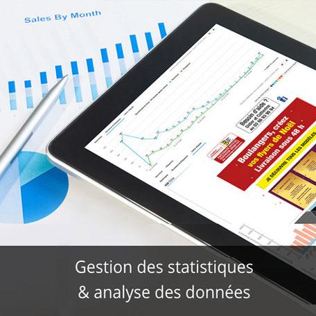 Gestion Analytics et analyse des données