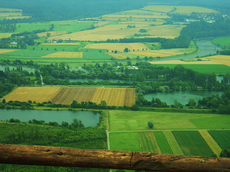 Blick auf das Weserumland