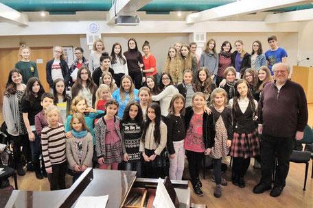 Jugendchor Gruppenbild