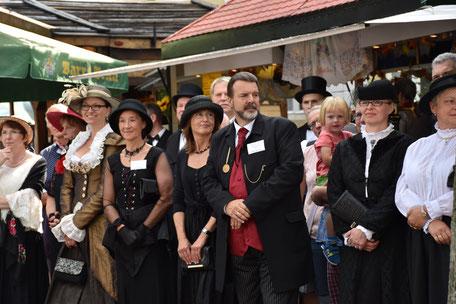 Historischer Markt in Bad Essen - Besucher