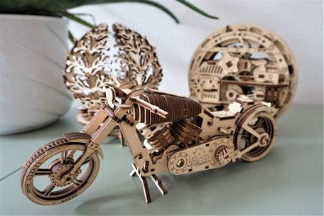 Mechanische Holz Puzzle, Ugears, Geschenke, Modellbau