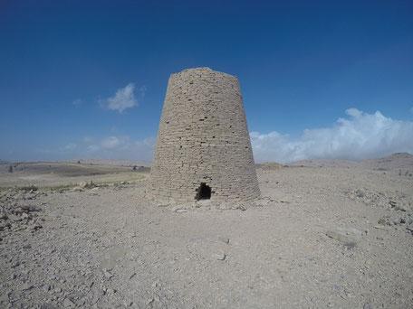 Grabtürme am Jebel Bani Jabir