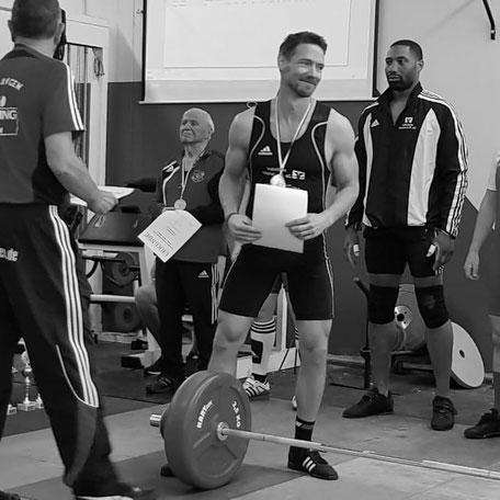 Südhessenmeisterschaft Gewichtheben Andreas Wagner