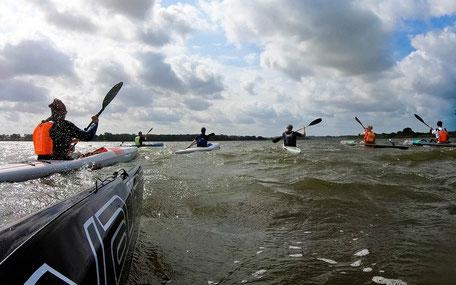 VAJDA Surfski Training Camps STC Ostsee, Kajak Nord