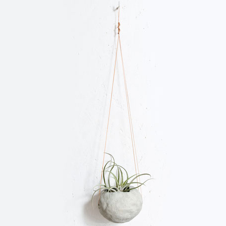 Unique Concrete Hanging Globes by PASiNGA