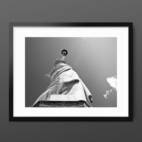 Black and White New York Art Print 'Liberty' by PASiNGA