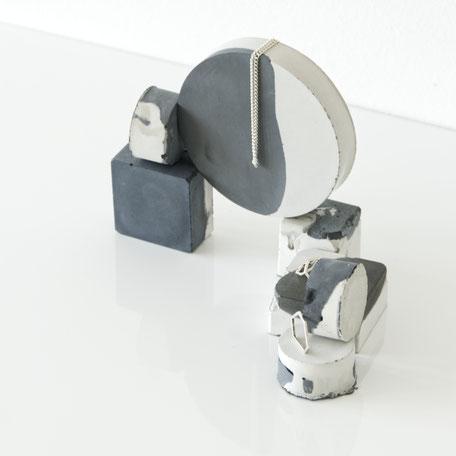 Monochrome Unique Marble Concrete PASiNGA Photo Prop Set