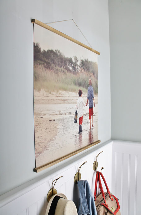 Three Picture Framing Trends For 2019 by PASiNGA, wood poster frame via cityfarmhouse.com
