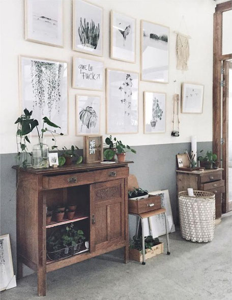 Gallery Wall Inspiration, image via Pinterest