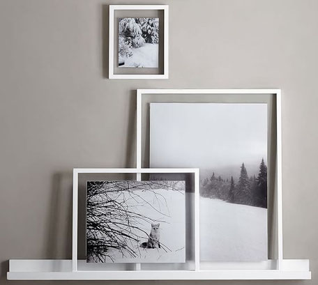 Three Picture Framing Trends 2019 by PASiNGA, floating frames image via Pinterest