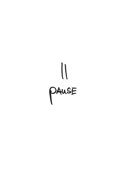 Free Printable 'Pause' A5 Card By PASiNGA