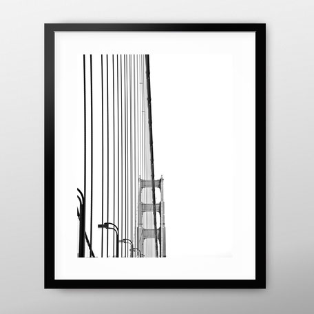 Photographic Art Print 'Golden Gate' by PASiNGA