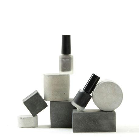 Geometric Concrete Cube & Cylinder Photo Styling Set By PASiNGA