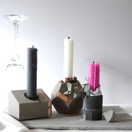 Concrete Candle Holder Inspiration by PASiNGA