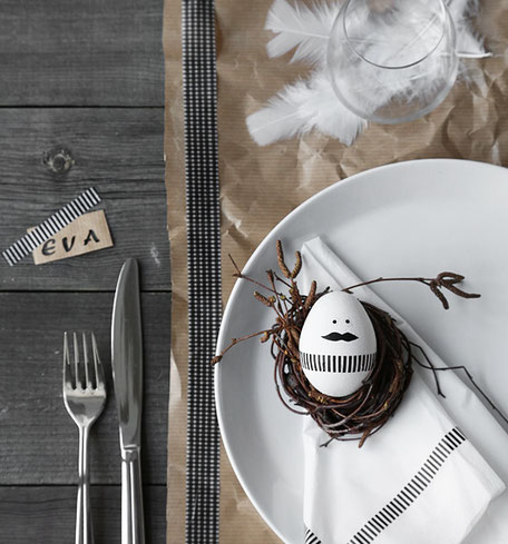 Easter Table Setting collection via pasinga.com, image via trendenser.se