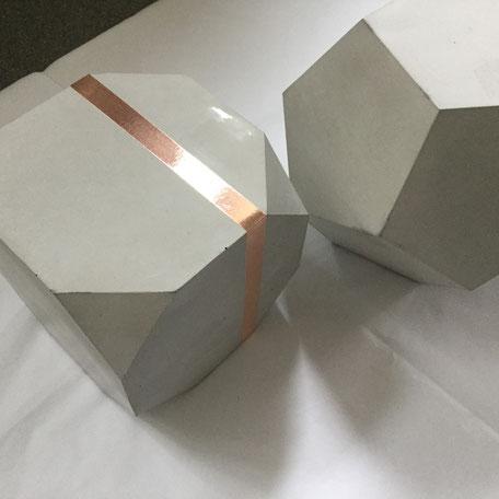 Bespoke PASiNGA Geometrie Concrete Sculptures