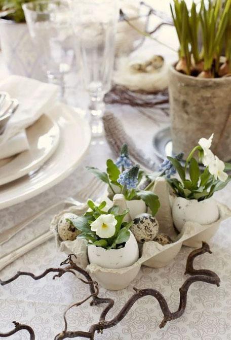 Planted Easter Egg DIY, via pinterest