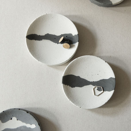 Concrete 'Cloud Trinket Dish By PASiNGA Design