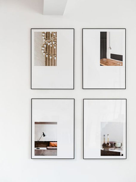 Three Picture Framing Trends For 2019 by PASiNGA, image of poster framing style via hegeinfrance.com