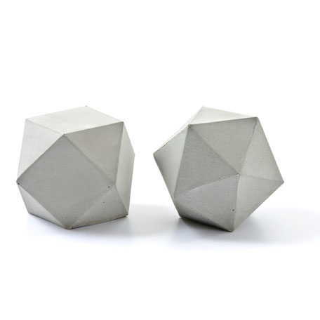 Geometric concrete sculptures by PASiNGA are a  5-star buy