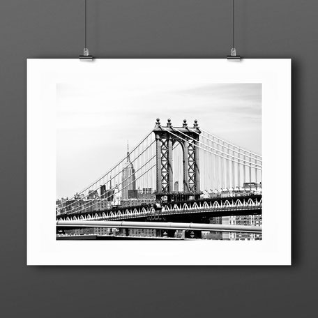Photographic Art Print 'Manhattan', New York by PASiNGA