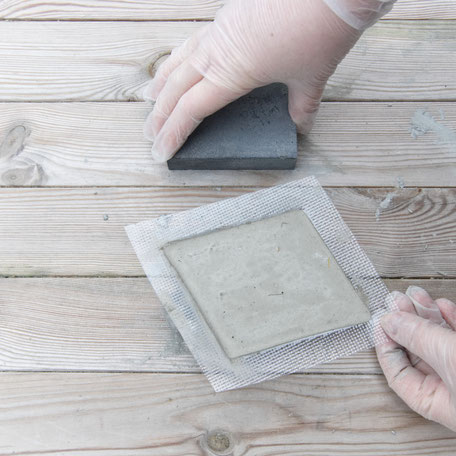 Releasing the Diy concrete hexagon coaster with PASiNGA