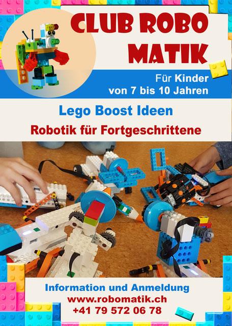 Ferienwoche mit LEGO BOOST in Gränichen AG