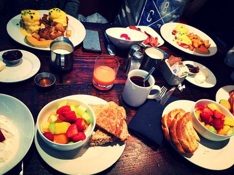Frühstück San Francisco Hotel Zoe
