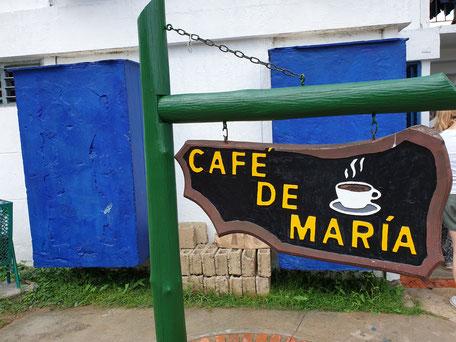 Cafe de Maria, bester Kaffee auf Kuba
