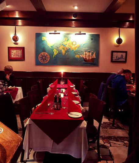 vorderer Raum im Vasco da Gama Restaurant