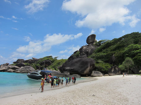 Koh Similan Sailing Rock