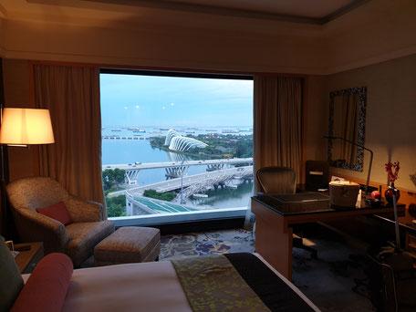 Mandarin Oriental Singapur Club Zimmer