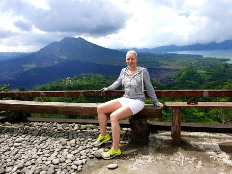 Kintamani Aussicht auf Vulkan