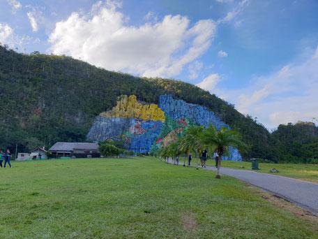 Berggemälde auf Kuba Mural de la Prehistorica