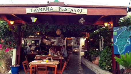 Taverna Platanos Rhodos