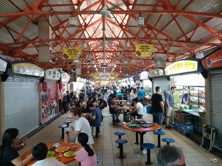 Maxwell Hawker Center Singapur