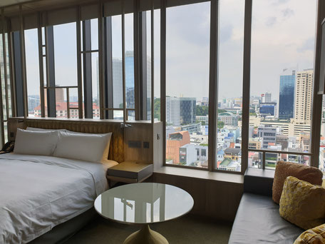 Parkroyal on Pickering Singapur Premier Zimmer