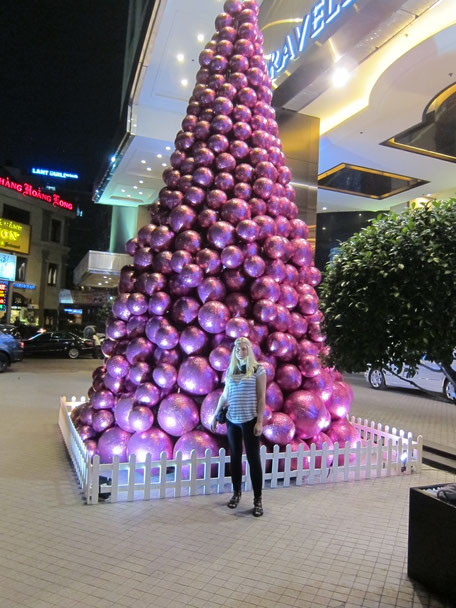 Weihnachtsbaum Caravelle Hotel Saigon