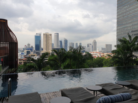 Parkroyal on Pickering Singapur Infinity Pool