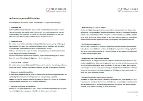 Anforderungen an Druckdateien – Das Merkblatt