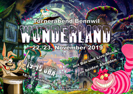 Flyer Turnerabend 2019