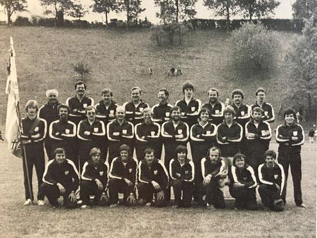 Turnfestsieger am Kantonalturnfest 1981