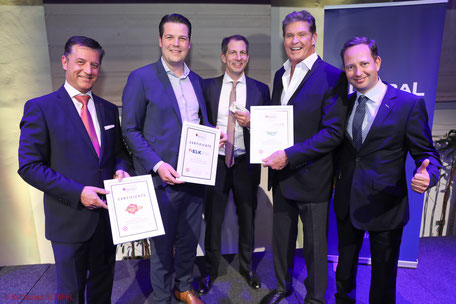 Gerhard Hrebicek, Thomas Scheriau, Jakob Glatz, David Hasselhoff, Christian Trautenberger