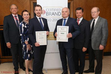 Worlds first Certified Brands, ELK, Hanlo, Zenker, Finanzfuchsgruppe