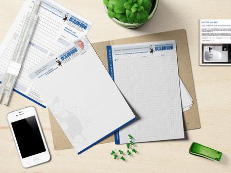 Corporate Design von Geschäftspapieren bis Webseiten