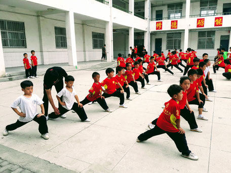 école de Me Zhang Baozhong à Wenxian