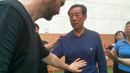 Rodolphe Pollet et Wang Xian