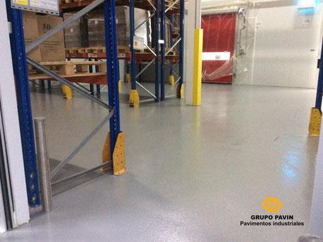 GRUPO PAVIN - Suelos y pavimentos industriales | Pavimento industrial bicapa epoxi alimentario