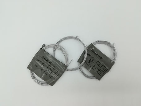 Photo câbles de frein ou dérailleur